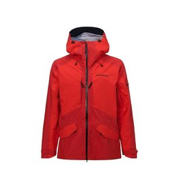 Peak Performance Men's Teton GoreTex Shell Jacket Red Pompeian
