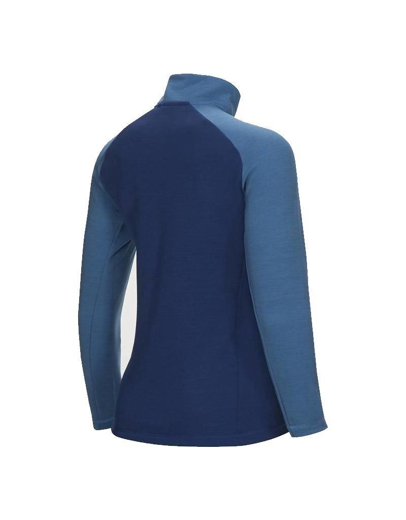 Peak Performance Helo Dames Mid-Layer Zip Up Blauw