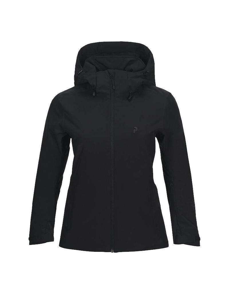 45f93706e Women s Padded HipeCore+ Anima Ski Jacket Black - Ski Center Heemskerk