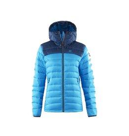 Elevenate Agile Hood Dames Ski Jas Ocean Blue