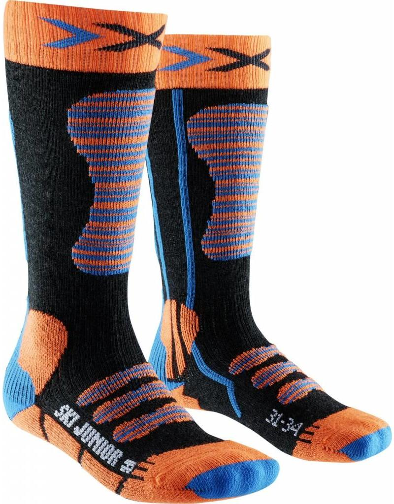 X-Socks Ski Junior Orange Turquoise