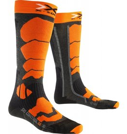 X-Socks Ski Control 2.0 Anthracite Orange