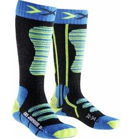 X-Socks Ski Junior Turquoise Jaune