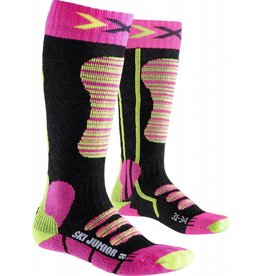 X-Socks Ski Junior Fuchsia Yellow