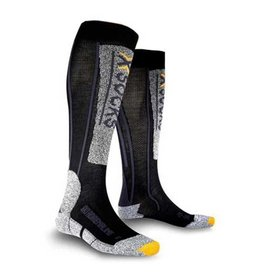 X-Socks Ski Adrenaline Noir Anthracite