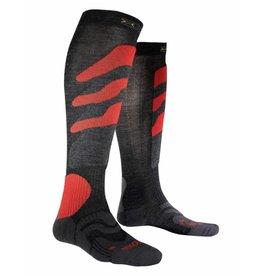 X-Socks Ski Precision Anthracite Rouge