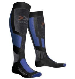 X-Socks Snowboarding Anthracite Azure