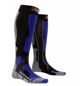 X-Socks Ski Alpin Silver Black Cobalt Blue
