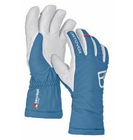 Ortovox Swisswool Freeride Glove W Blue Sea