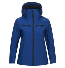 Peak Performance Lanzo Dames Ski Jas Island Blue