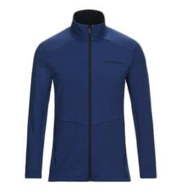 Peak Performance Helo Mid-Layer Zip-Up Jacket Island Blue