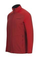 Peak Performance Helo Mid-Layer Zip-Up Red Pompeian
