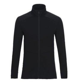 Peak Performance Helo Mid-Layer Zip-Up Jacket Black