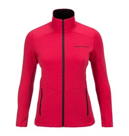 Peak Performance Women's Helo Mid-Layer Zip-Up Jacket Pink Planet