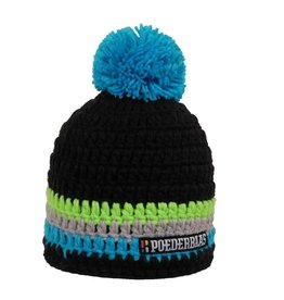 Poederbaas Colourfull Cap Black/Blue/Grey/Green