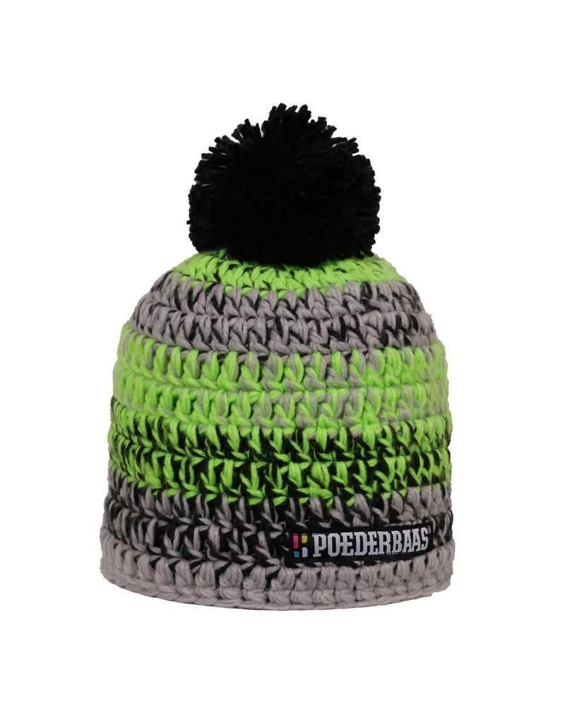 Poederbaas Colourfull Cap Black/Green/Grey