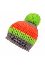 Poederbaas Colorfull Cap Grey/Green/Orange