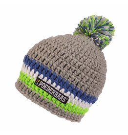 Poederbaas Colourfull Cap Grey/Blue/White/Green