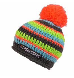 Poederbaas Colourfull Cap Black/Oange/Blue/Green