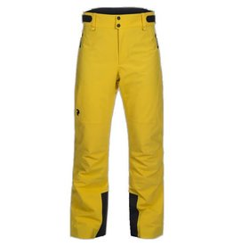 Peak Performance Men's HipeCore+ Maroon Race Ski Pants Desert Yellow