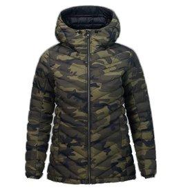 Peak Performance Women's Pertex Frost Down Hooded Jacket Pattern