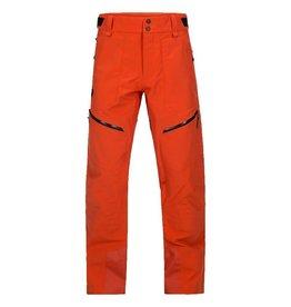 Peak Performance Men's Bec Ski Pants Orange Lava
