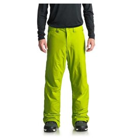Quiksilver Men's Estate Ski/Snowboard Pants Lime Green