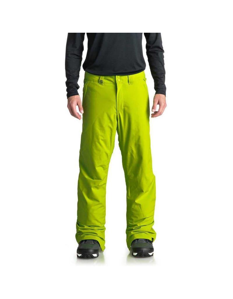 Quiksilver Men's Estate Ski/Snowboard Pants Lime Green