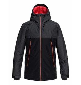 Quiksilver Men's Sierra Ski/Snowboard Jacket Black