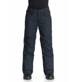 Quiksilver Pantalon de Ski/Snowboard Enfants State Noir