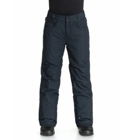Quiksilver State Youth Ski/Snowboard Pants Black