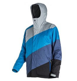 Quiksilver Men's Edge Ski/Snowboard Jacket Grey
