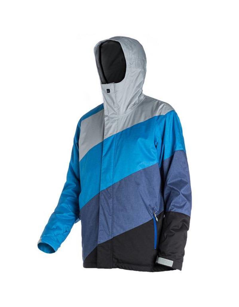 Quiksilver Men's Edge Ski/Snowboard Jacket Grey