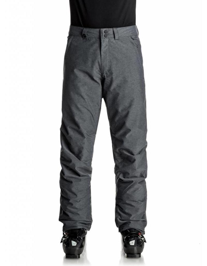 Quiksilver Men's Estate Ski/Snowboard Pants Textured
