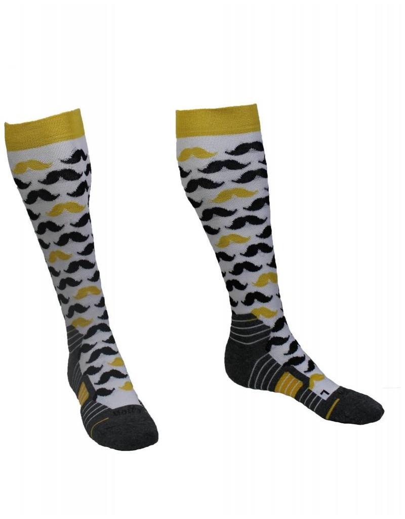 Molly Socks Moustache Socks