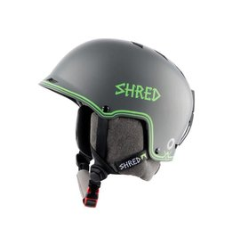 Shred Half Brain D-Lux Bigshow Helmet Grey/Green