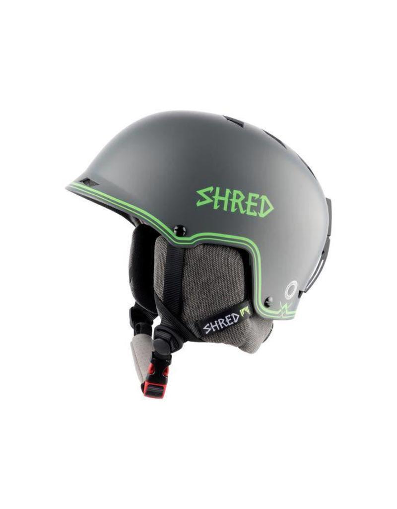 Shred Half Brain D-Lux Bigshow Helmet Grey/Green