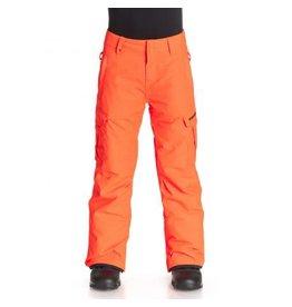 Quiksilver Mission Kinder Ski/Snowboard Broek Oranje