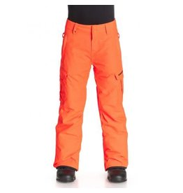 Quiksilver Mission Youth Ski/Snowboard Pants Shocking Orange