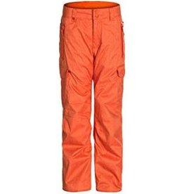 Quiksilver Pantalon de Ski/Snowboard Enfants Planner Orange