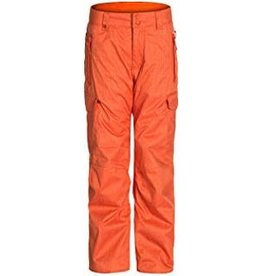 Quiksilver Planner Youth Ski/Snowboard Pants Orange