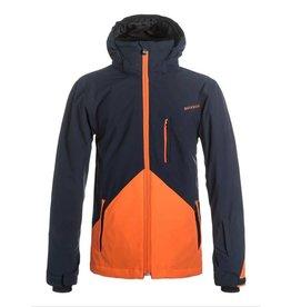 Quiksilver Mission Colorblock Ski/Snowboard Jacket Navy Blazer