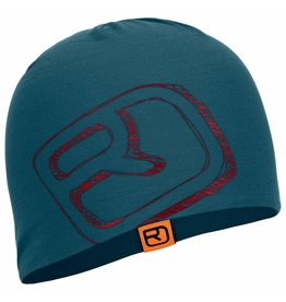 Ortovox Merino Cool Logo Beanie Night Blue