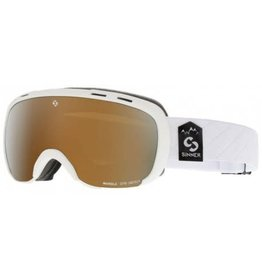 Sinner Masque de Ski Marble OTG Blanc Sintec