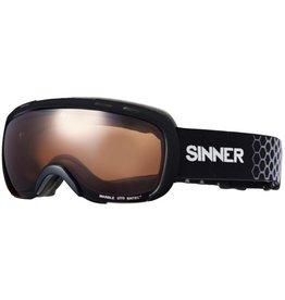 Sinner Marble OTG Skibril Matt Zwart Sintec