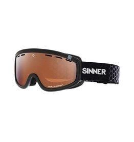 Sinner Masque de Ski Visor III OTG Noir Sintec