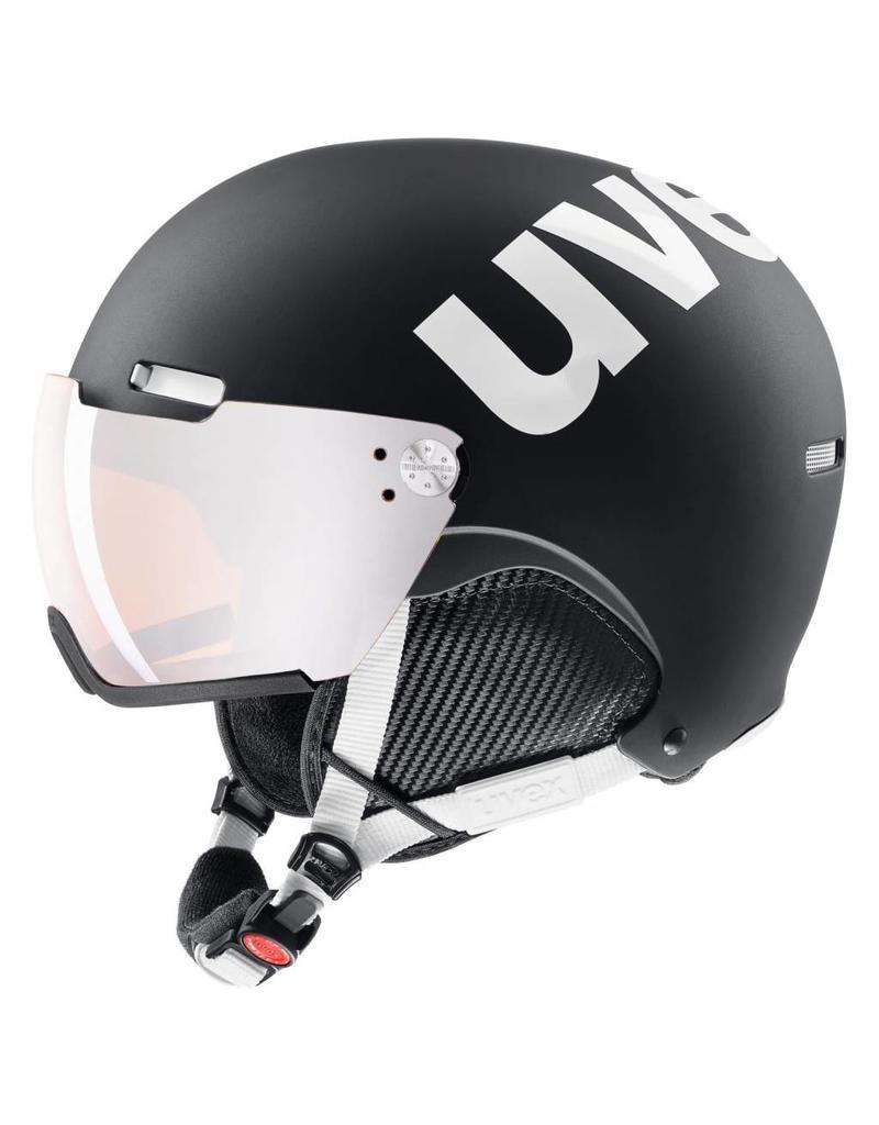 Uvex Hlmt 500 Visor Black White Mat