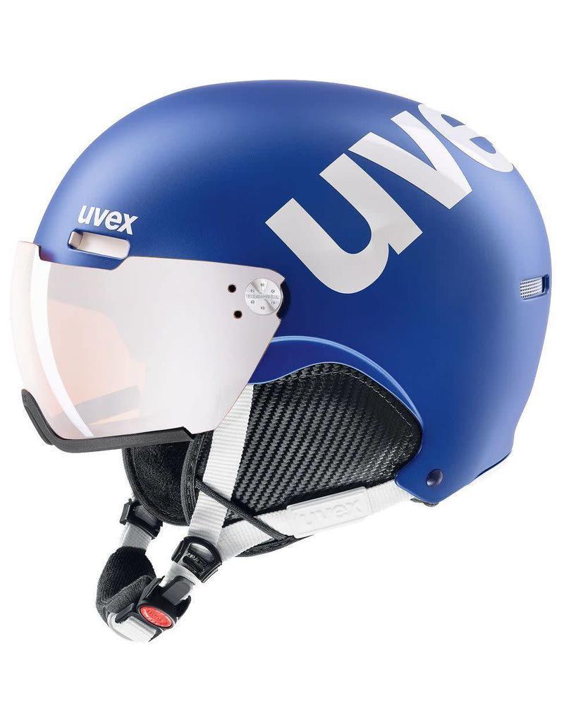 Uvex Hlmt 500 Visor Cobalt White Mat