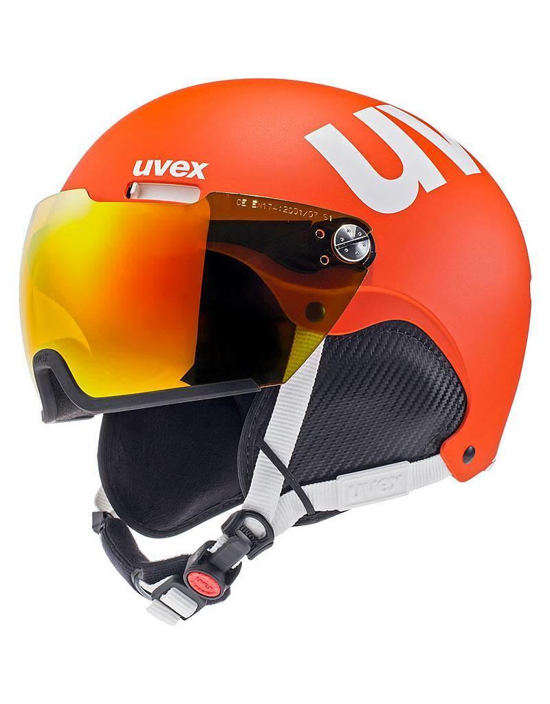 Uvex Hlmt 500 Visor Orange Mat