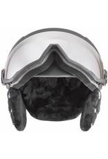 Uvex Hlmt 400 Visor Style Black Mat